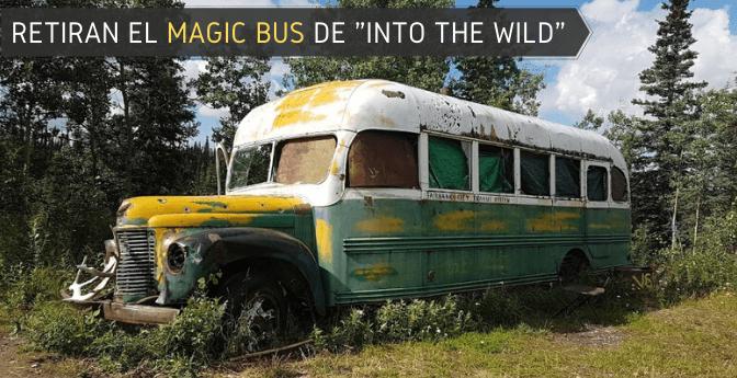 Retiran el «Magic Bus» de «Into the wild»