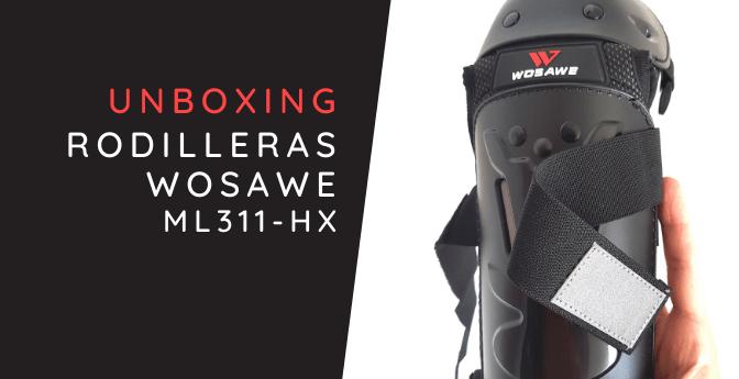 Unboxing: Rodilleras Wosawe ML311-HX