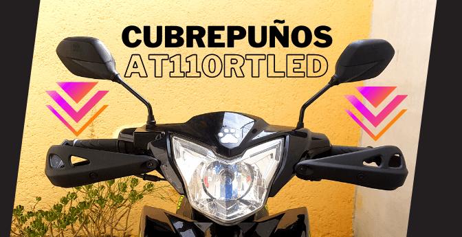 #Motos: Cubrepuños Italika AT110RT Led