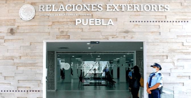 #SRE: Nueva oficina de pasaportes en Puebla